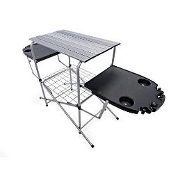 Camco 57295 grilling table w plastic side