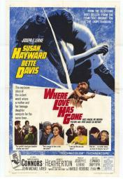 Where Love Has Gone Movie Poster Print (27 x 40) MOVEF6430