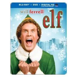 ELF (2003/BLU-RAY/DVD/UV/10TH ANNIVERSARY/2 DISC/STEELBOOK) 883929357710
