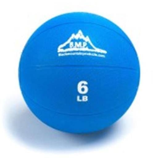 Black Mountain Products BMP Medicine 6 Professional Medicine Ball, Blue