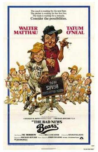 The Bad News Bears Movie Poster (11 x 17)