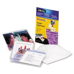 FEL5208301 Photo Laminating Pouch 3 Mil, 4.5 x 6.25 in.