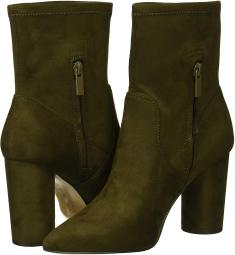 BCBGeneration Womens Ally Faux Suede Ankle Booties