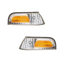 NEW PAIR SIDE MARKER LIGHT FITS FORD CROWN VICTORIA LWB FO2521147 XW7Z-15A201-BB