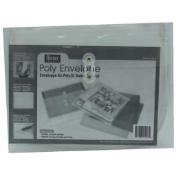 Filexec Products 15203 Poly Envelope Side Load Clear Letter