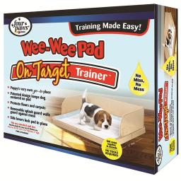 Four paws 100514546 four paws wee-wee pad on target trainer 22.75 x 22 x 7