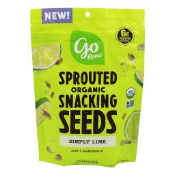Go Raw - Sprouted Organic Snacking Seeds Simply Lime