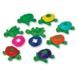 Learning resources smart splash shape shell turtles 7303
