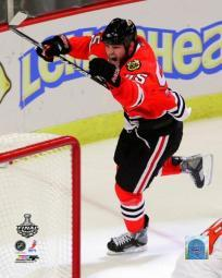 Ben Eager Goal Celebration Game Two of the 2010 NHL Stanley Cup Finals PFSAAMK14901