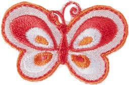 Iron-on Appliques-pink Butterfly