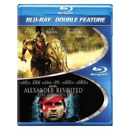 TROY/ALEXANDER REVISITED-UNRATED FINAL CUT (BLU-RAY/DBFE)