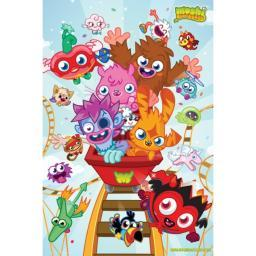 Moshi Monsters - Roller Coaster Poster Poster Print GBEFP2672