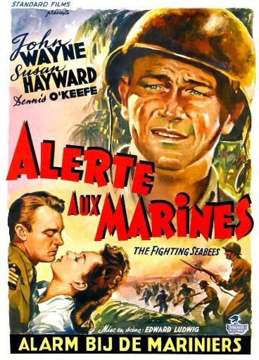 The Fighting Seabees John Wayne 1944. Movie Poster Masterprint 1034340