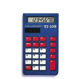 Texas Instruments 108-BK-D TI108 -Pack of 10