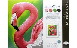 PAINTWORKS 91379 PAINT BY NUMBER 20X14 EAGLE HUNTER
