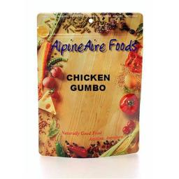 Alpine Aire Foods 10309 Chicken Gumbo Serves2
