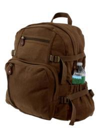 Rothco 9243 Brown Vintage Jumbo Backpack