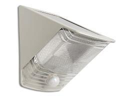 Maxsa  maxsa solar-powered motion-activated wedge light - off-white