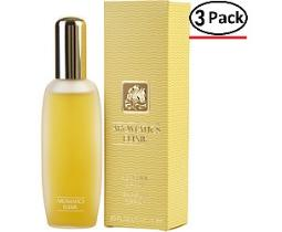 AROMATICS ELIXIR by Clinique PERFUME SPRAY .83 OZ (Package Of 3)