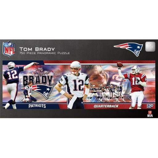Tom Brady Panoramic Puzzle B1358D4F0FABAB32