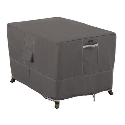 Ravenna Rectangular Fire Pit And Table Cover - Taupe
