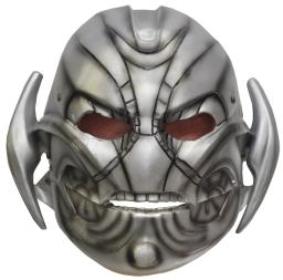 Rubie'S Costume Co Men'S Avengers 2 Age Of Ultron Adult Ultron Mask With Moveable Jaw, Multi, One Size RU68572
