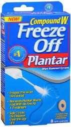Compound W Freeze Off Plantar - 8 Strips, Pack Of 3