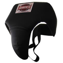 Amber Fight Gear Dabguard-l Deluxe Groin Protector, Large