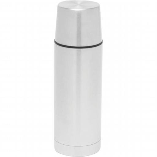 BNFUSA KTVB32 32 oz. Stainless Steel Double Wall Vacuum Bottle with Flat Cover
