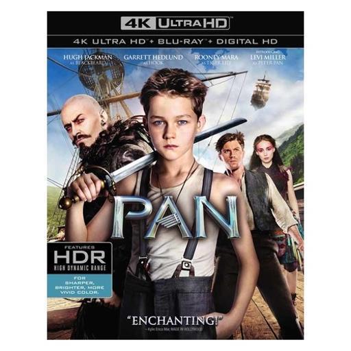 Pan (blu-ray/4k-uhd/2 disc) RB7R2EMCVI8B4JAW