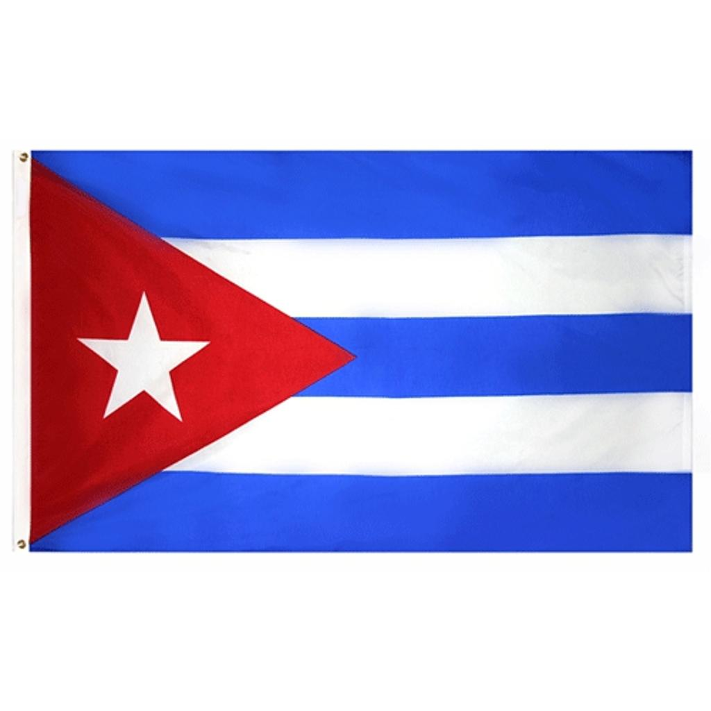 Cuban Flag for Cars, Trucks, SUVs, and Boats. Great for Patriotic Events, Rallys, Sports Events and Parades. Makes a perfect gift for Patriotic Cubans.