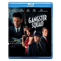 GANGSTER SQUAD (BLU-RAY/DVD/2 DISC COMBO/FF-16X9) 883929241590