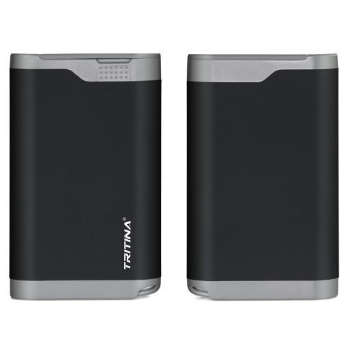 Tritina Portable Power Bank 7800mah Rainproof Dust Proof Cover Dual USB Port External Battery Charger, LCD Indicator, for Apple Iphone, Ipad and.