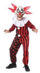 Googly Eye Clown Child Costume