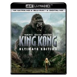 King kong-ultimate edition (blu ray/4kuhd/ultraviolet/digital hd) BR61186785