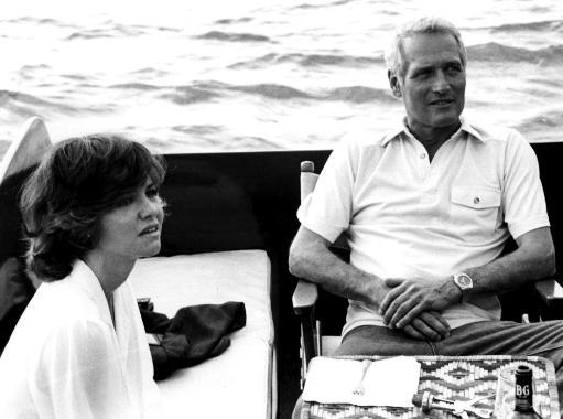 Sally Field and Paul Newman on the set of Absence of Malice Photo Print QBPBXDVTQ7COXDEN