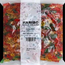 HARIBO GUMMI BEAR-5 LB -Pack of 1