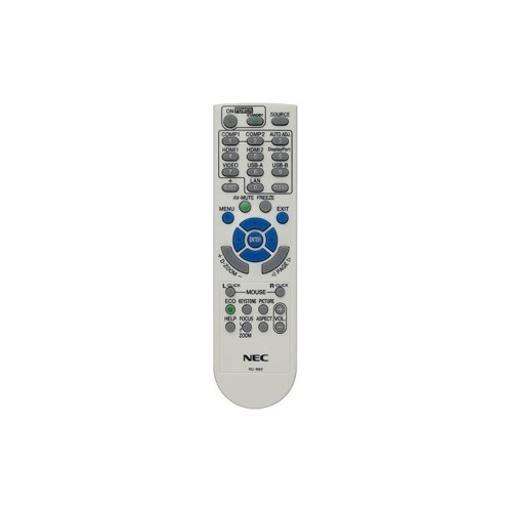 Nec display solutions rmt-pj36 replacement remote control for np-m282x/m322x/m322w/m402x, np-m283x/m323x/m323w/m