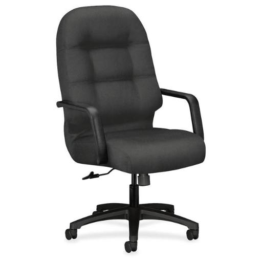 The HON HON2091CU19T Executive High-Back Office Chair with Arms, Iron