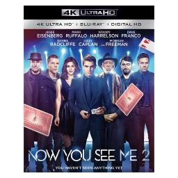 Now you see me 2 (blu-ray/4kuhd/mast/uv) BR50303