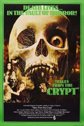 Tales From The Crypt British Poster Art 1972 Movie Poster Masterprint
