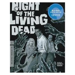 Night of the living dead (blu ray) (b&w/ff/1.37:1/2discs) BRCC2851