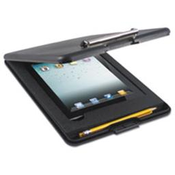 Saunders 65558 SlimMate Storage Clipboard with iPad Air Compartment, Black