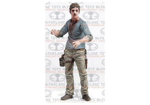 Mcf-the walking dead tv series 7.5 flu walker (5 inch figure)-nla G6JSCUYV2SA3EMLW