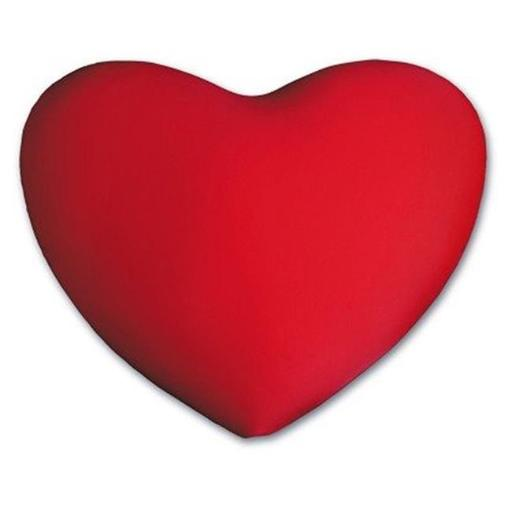 Living Health Products HSP-001-10 Heart - Shaped Pillow - Valentine Pillow - Red
