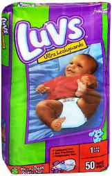 Luvs Ultra Leakguard Diapers Size 1, 8-14 lb - 2 packs of 48, Pack of 2