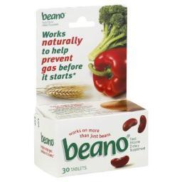 Beano Food Enzyme Tablets