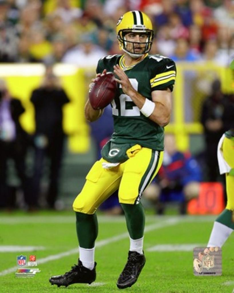 Aaron Rodgers 2015 Action Sports Photo