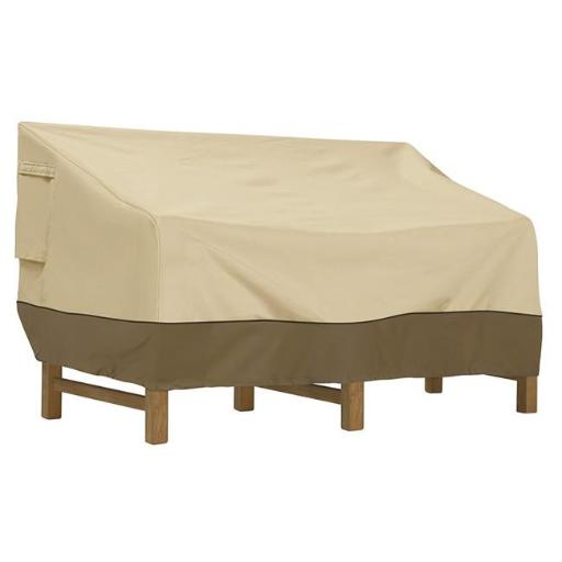 Classic Accessories 55-414-041501-00 Deep Seat Sofa Cover - Large, Brown