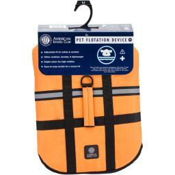 Akc Flotation Vest-orange Large